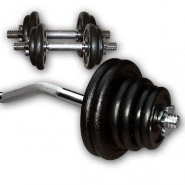 Gietijzeren Curl Plus Set 47,5kg