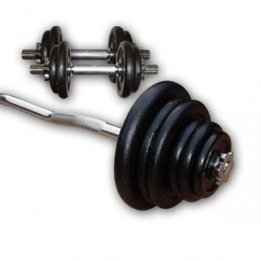 Gietijzeren Curl Plus Set 67,5kg