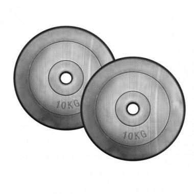 Set Halterschijven PE 2 x 10 kg (20 kg)