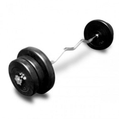 PE Curl Halterset 47,5 kg