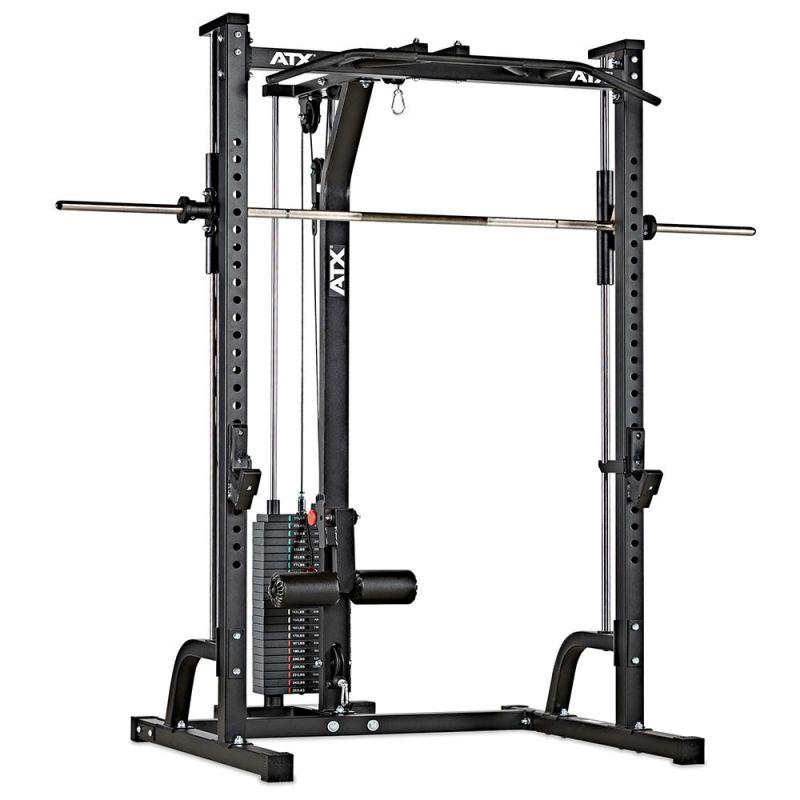 ATX Smith Machine MPX-620 + Lat Pulley met Gewichtstapel
