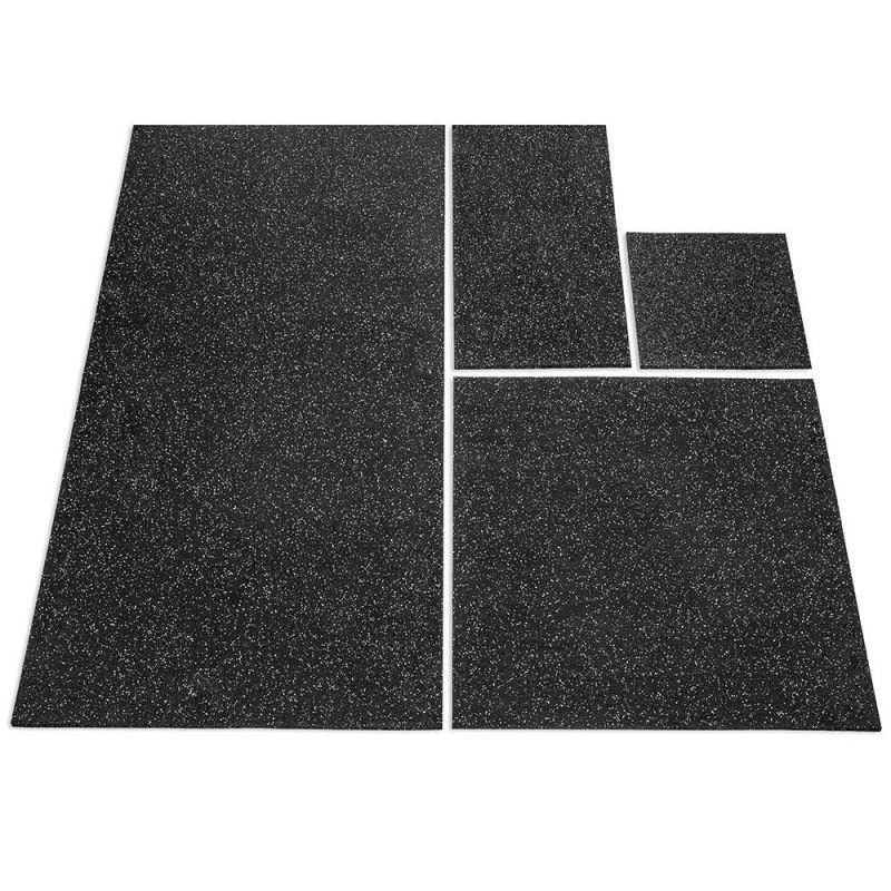 De Rubbermat 10 mm is verkrijgbaar in verschillende afmetingen