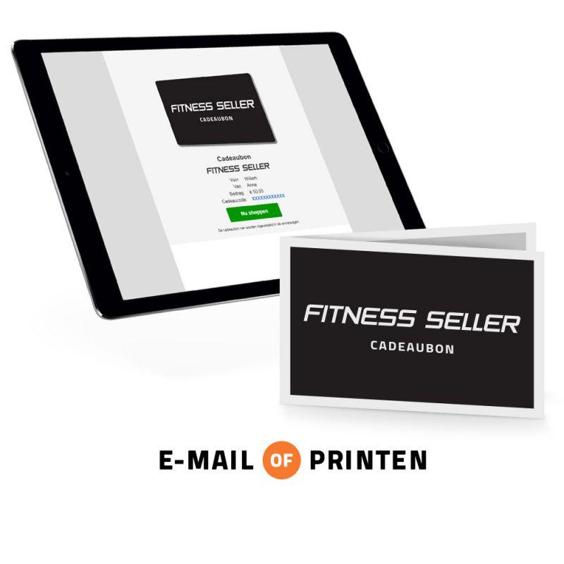 Je kunt de cadeaubon per e-mail versturen of zelf printen