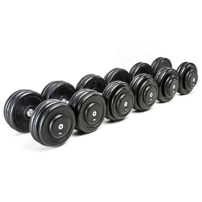 CHD Complete Set Rubber - 2,5 kg stappen