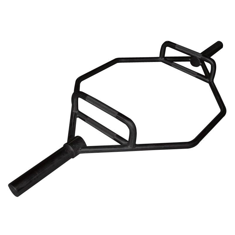 Olympische Hex Bar zwart (B-kwaliteit)
