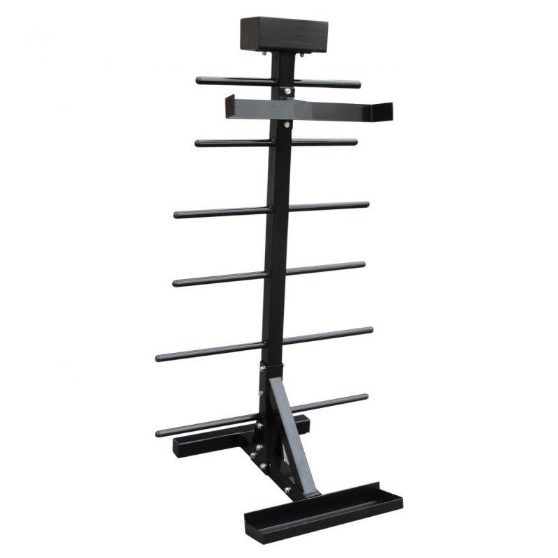 Aerobics Halterstandaard voor 20 sets - zwart