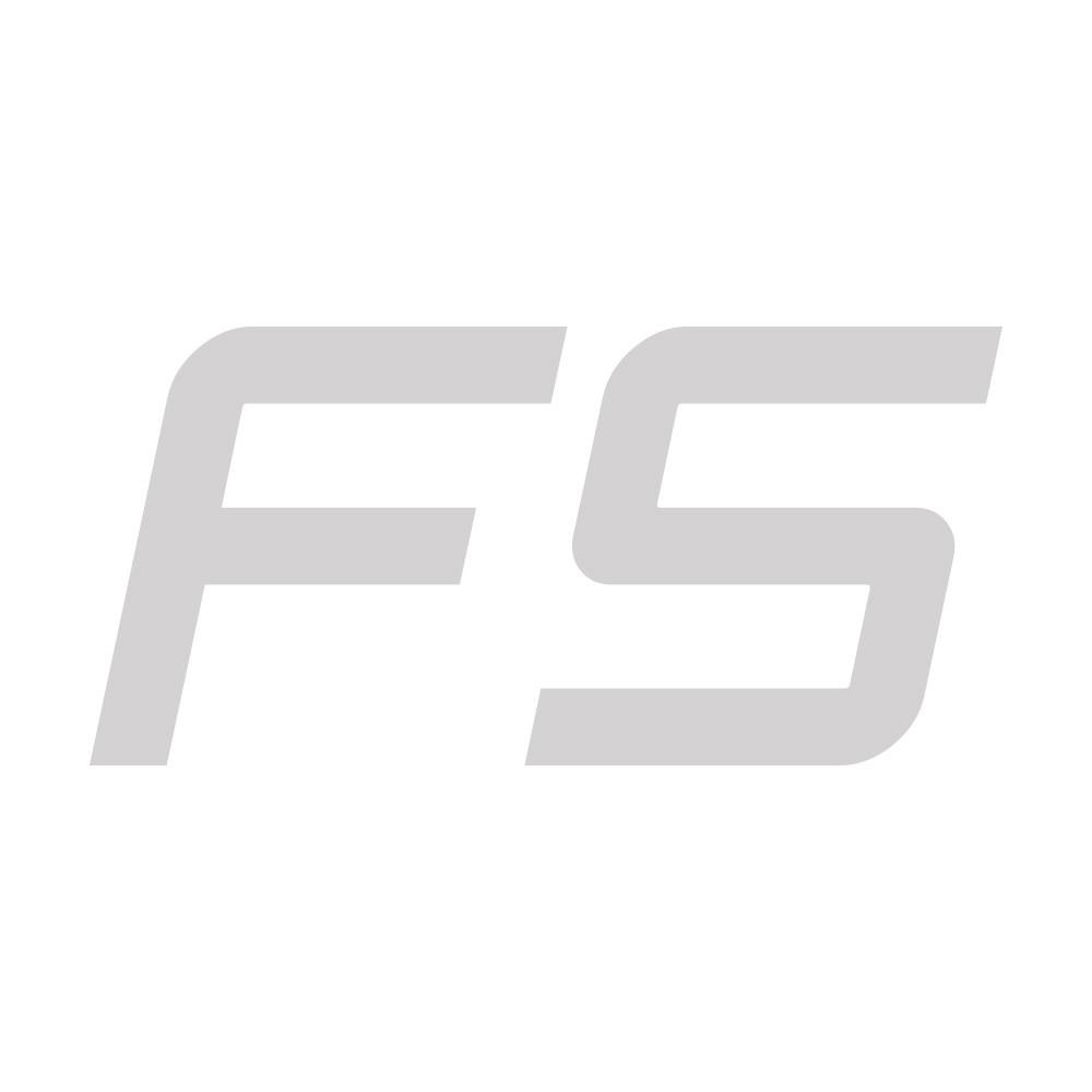Olympische halterstang zwart met chroom 220 cm tot 400 kg
