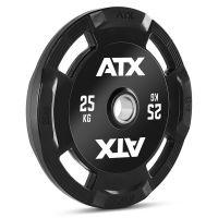 25 kg ATX Rubberen 4-Grip Halterschijf 50 mm