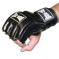 Box-Tec Powerhand Leder Zwart