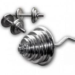 Chromen Curl Plus Set 80kg