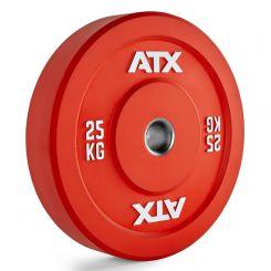 25 kg ATX Color Bumper Plate - Rood