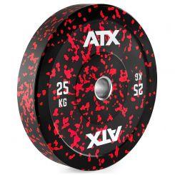 25 kg ATX Color Splash Bumper Plate