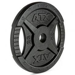 ATX Gietijzeren 2-Grip Halterschijven 50 mm