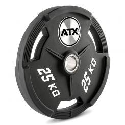 25 kg ATX Polyurethaan Halterschijf 50 mm