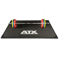 ATX Rubber Gewichthefplatform voor gewichtheffen en powerliften