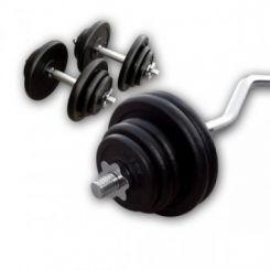 Gietijzeren Curl Plus Set 60kg