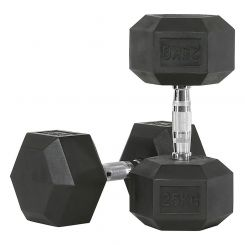 Hex Dumbbells Rubber