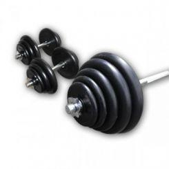 Rubberen Halter Plus Set 100kg