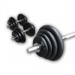 Rubberen Halter Plus Set 70kg