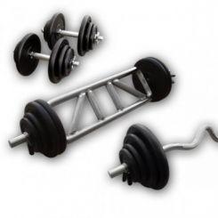 Gietijzeren Biceps/Triceps Set 78kg