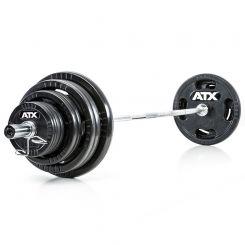 Olympische Halterset 140 kg ATX Rubber