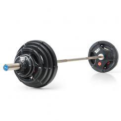 Heavy Duty Rubber Halterset 127,5 kg