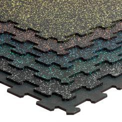 Puzzelmat 96 x 96 x 0,8 cm - Gekleurd