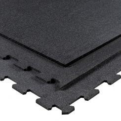 Puzzelmat 96 x 96 x 1 cm - Zwart