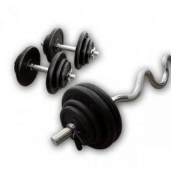 Gietijzeren Super-Curl Set 47,5kg