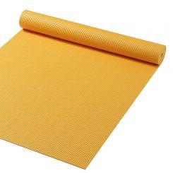 Yoga Mat 180 x 60 cm - Geel