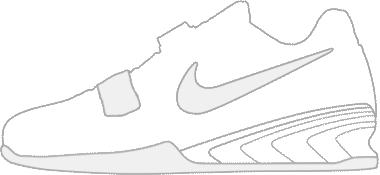 Nike Romaleos 2 zijkant